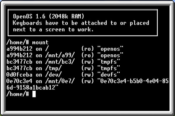 Installation and Operation of OpenOS [OpenComputers]